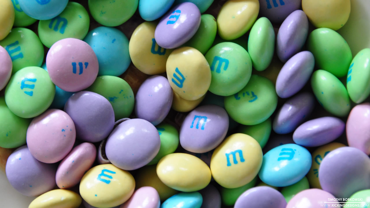 Easter M&M's 4-20-2014 Wallpaper