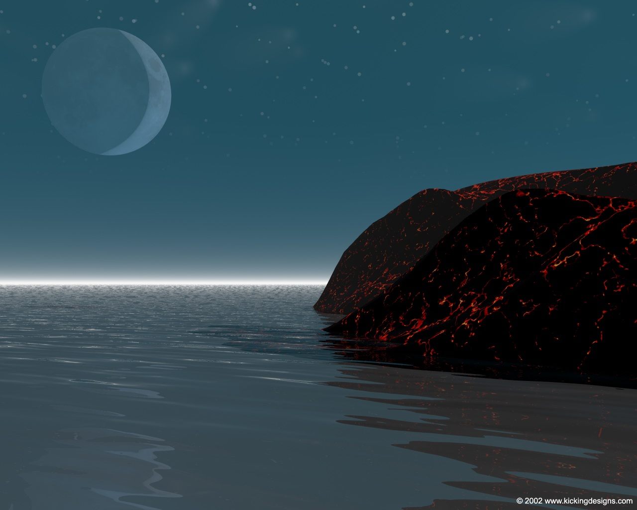 night time - desktop wallpaper 1280 x 1024