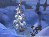 Guild Wars 014 - Old Ascalon City during the Christmas holiday season 2005