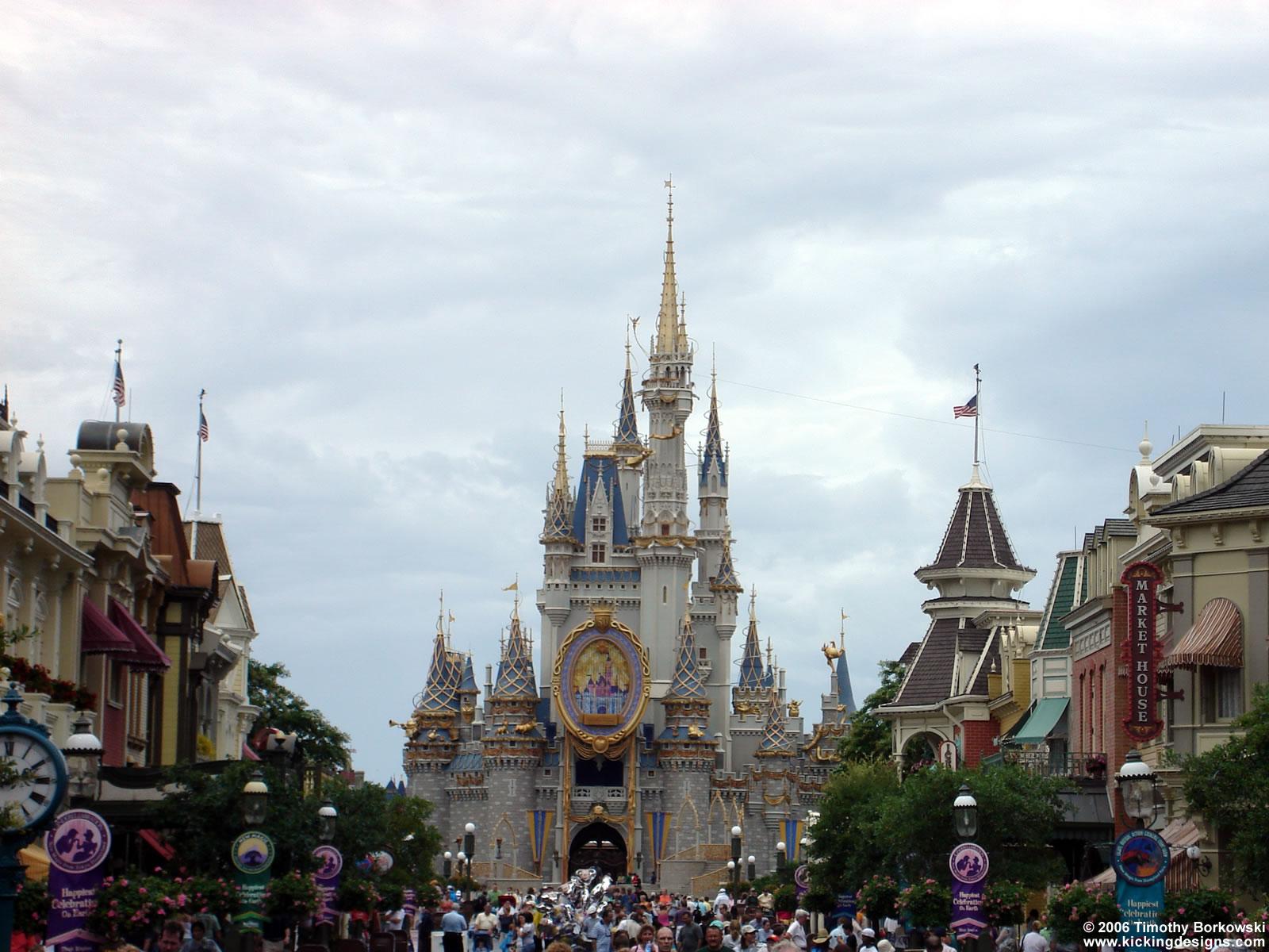 disney world magic kingdom - desktop wallpaper