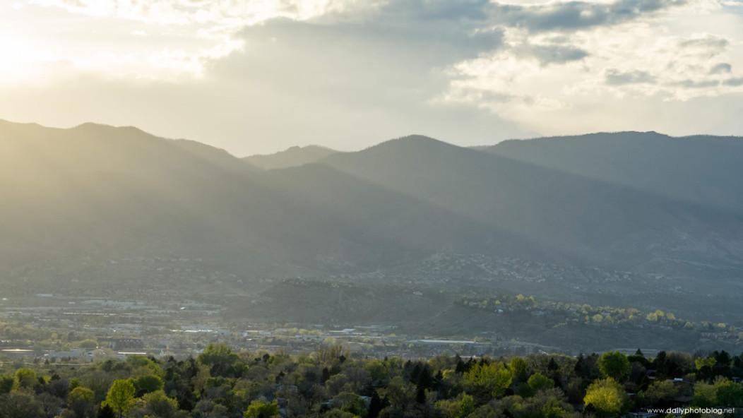 Colorado Springs Springtime