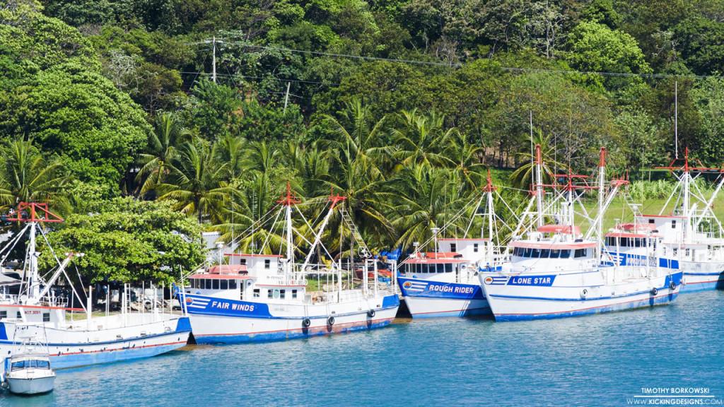 Roatan Boats 1-21-2016