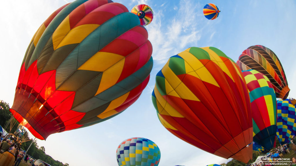 Hot Air Balloons 8-29-2016